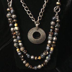"""Top Notch"" Necklace & Earrings by Premier Designs"